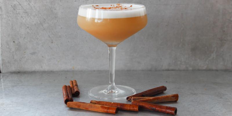 Apple Cider Bourbon Sour