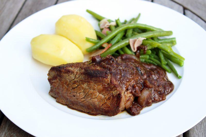Biefstuk met speculaassaus (Colruyt)