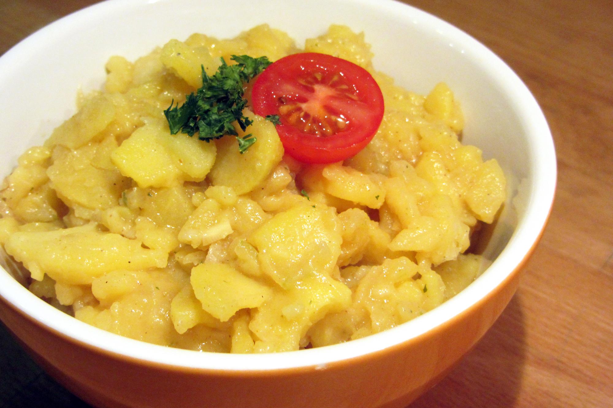 Zuid-Duitse aardappelsalade