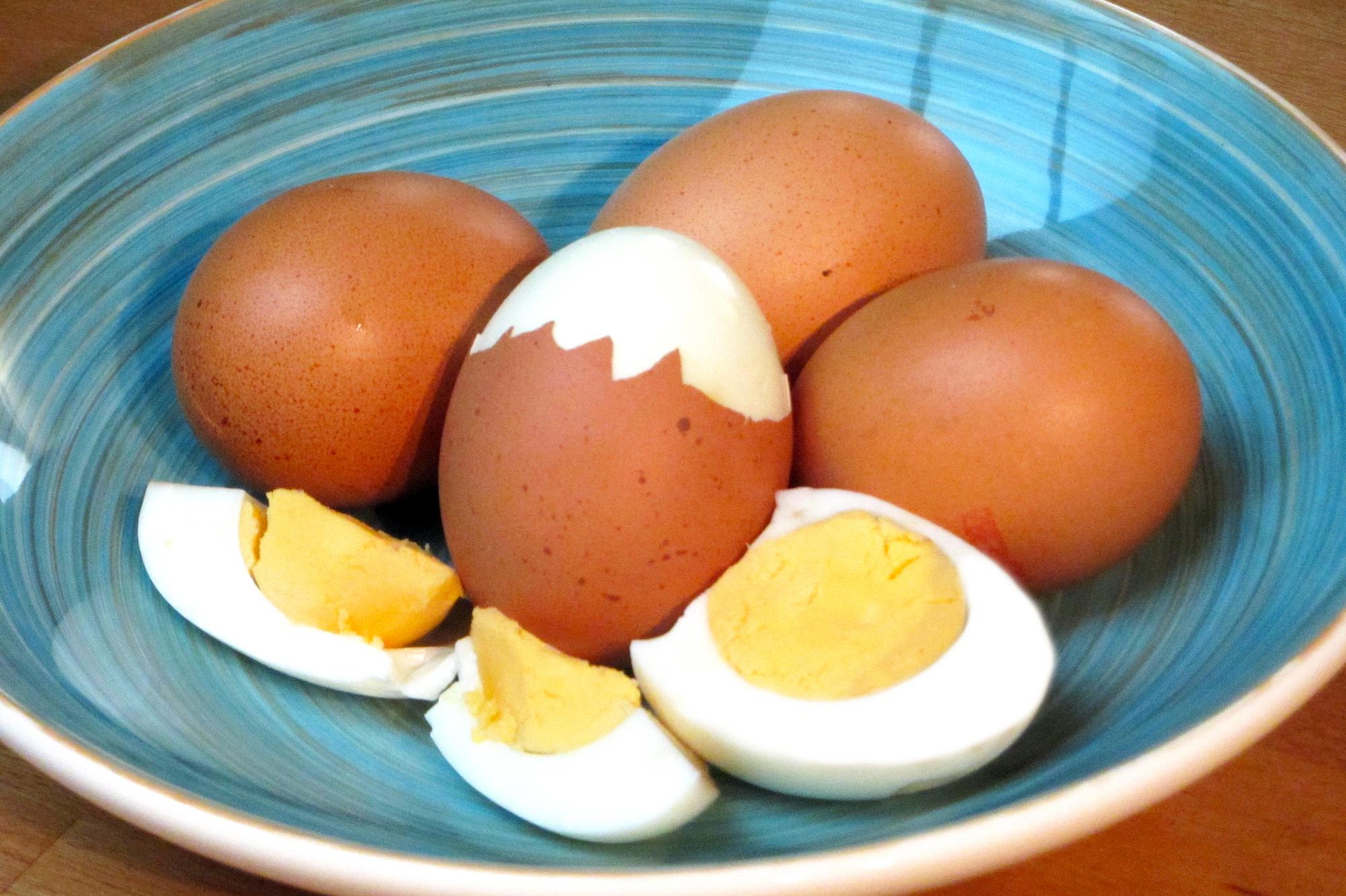 Hardgekookte eieren