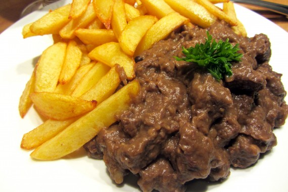 Hertenstoofvlees