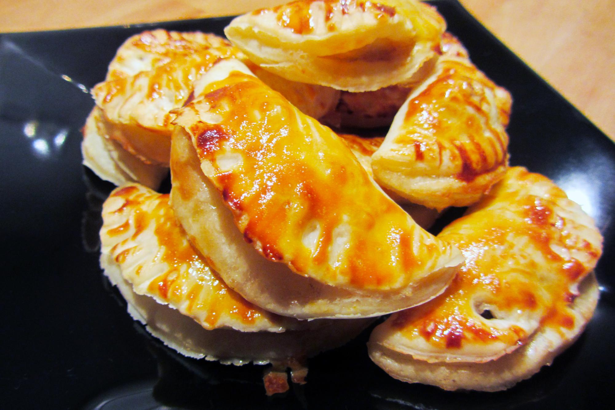 Honingflapjes met brie en walnoten