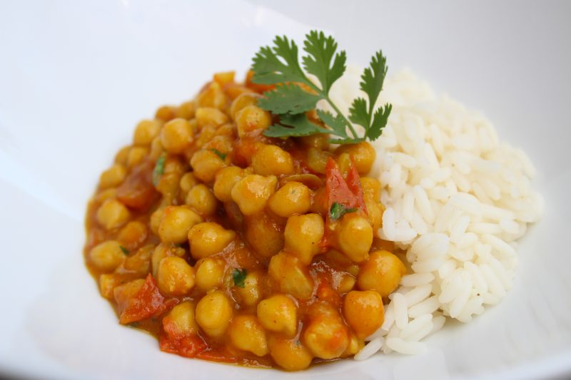 Kikkererwten-curry