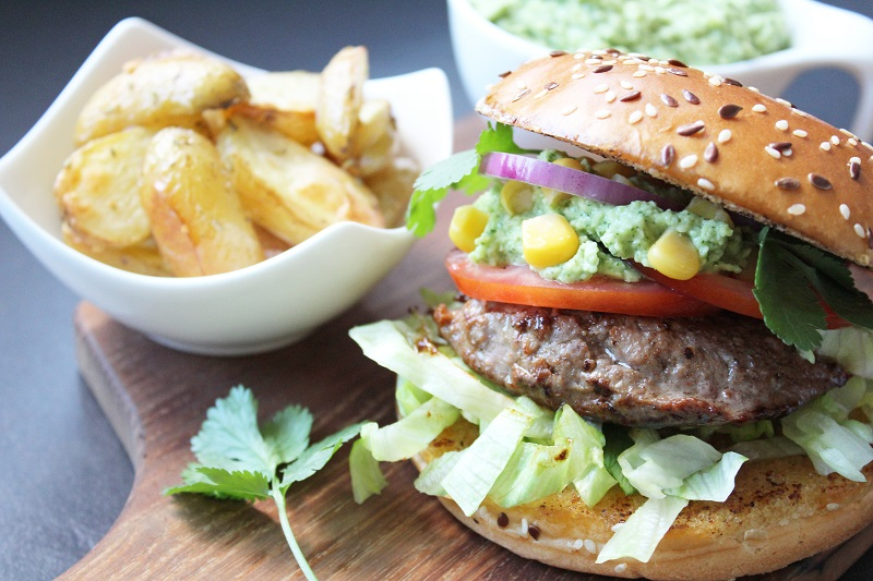 Mexicaanse burgers (Colruyt)