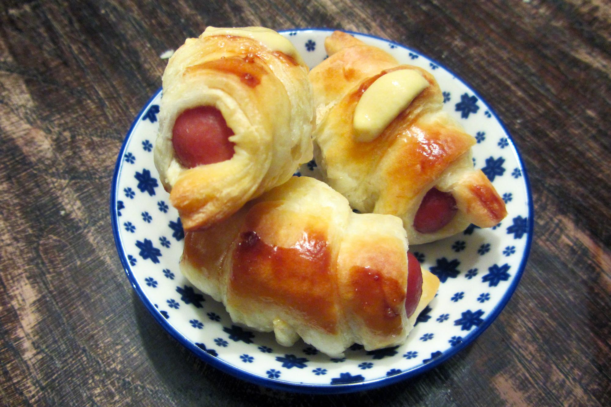 Miniworstenbroodjes voor de allerkleinsten