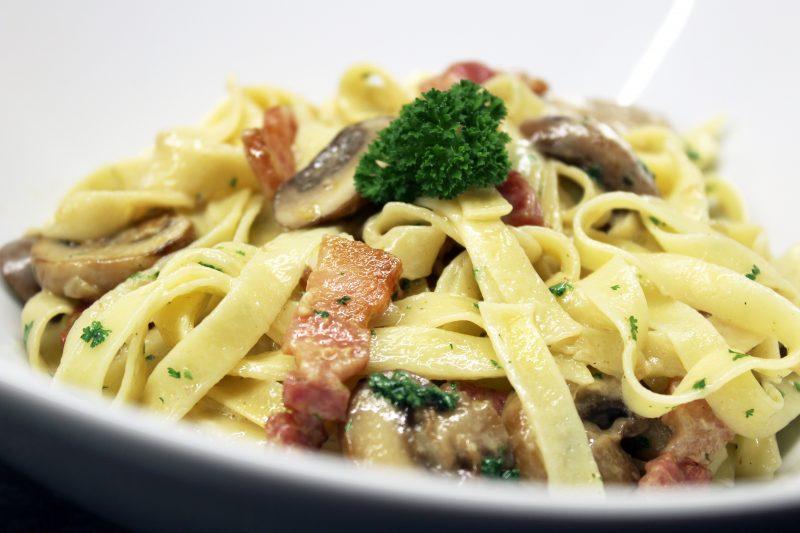 Pasta met champignons (Piet Huysentruyt)