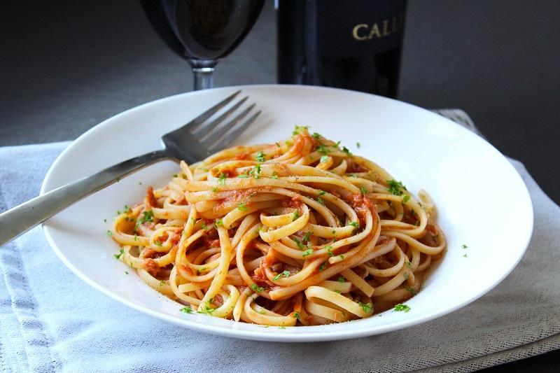 Pasta met tonijn (Carluccio)
