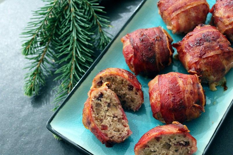 Pigs in a blanket voor Kerstmis