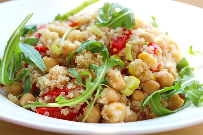 Quinoaslaatje met gegrilde paprika (Colruyt)