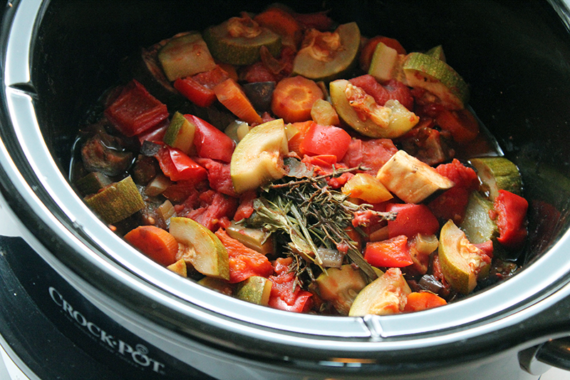 Ratatouille (slowcooker)