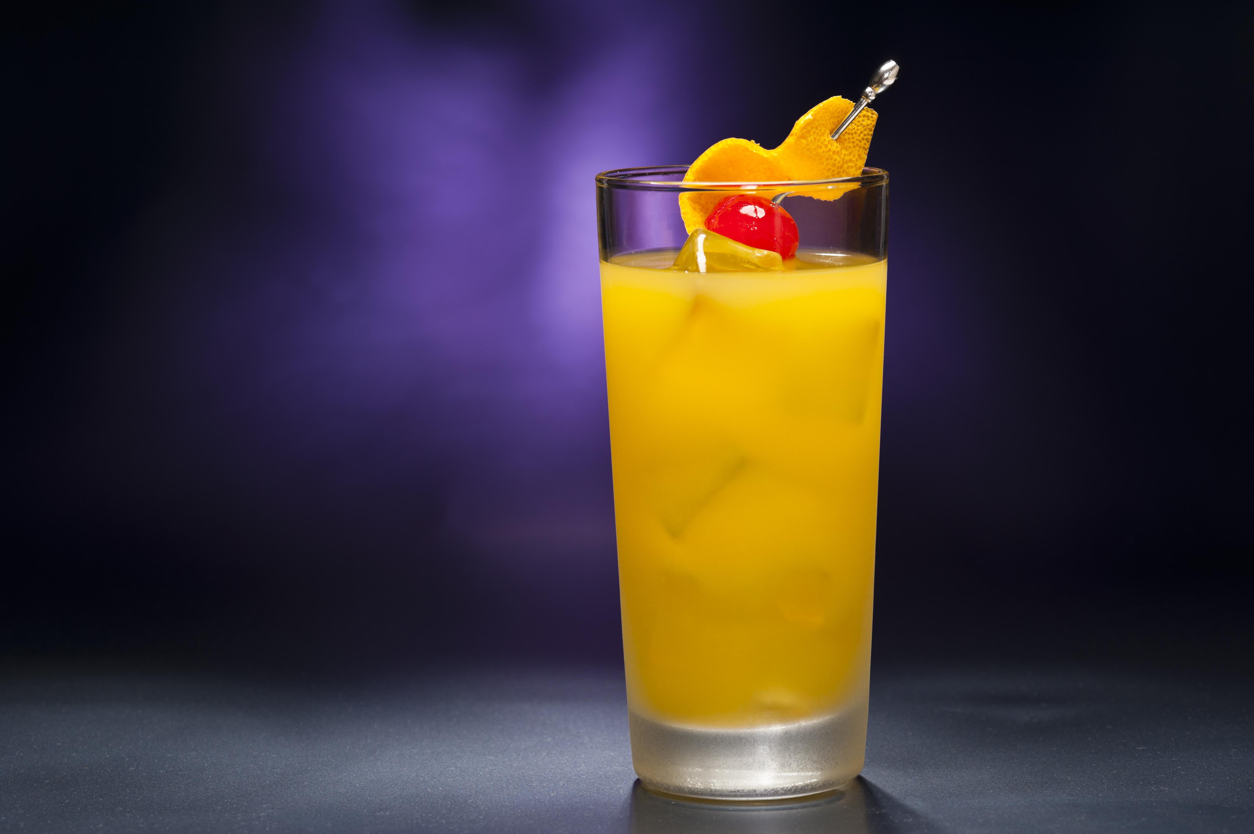wodka met sinaasappelsap