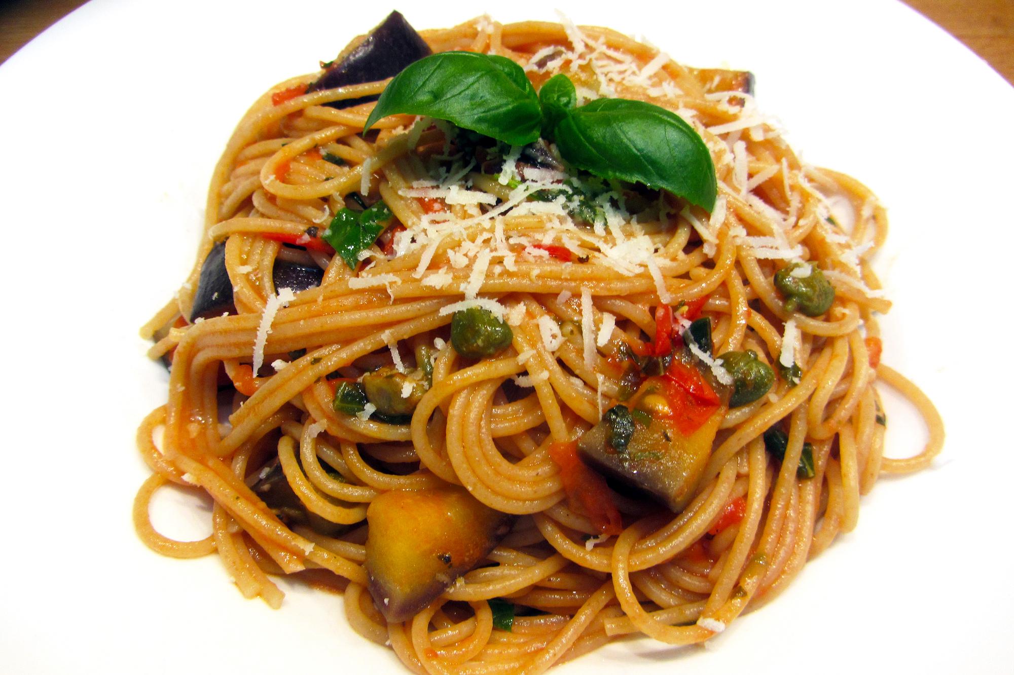 Siciliaanse spaghetti