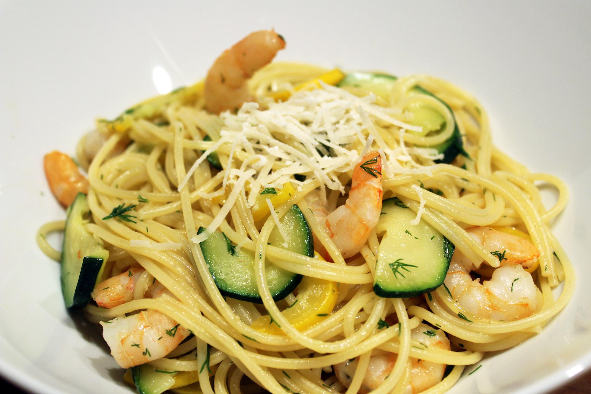 jamie oliver garnalen pasta