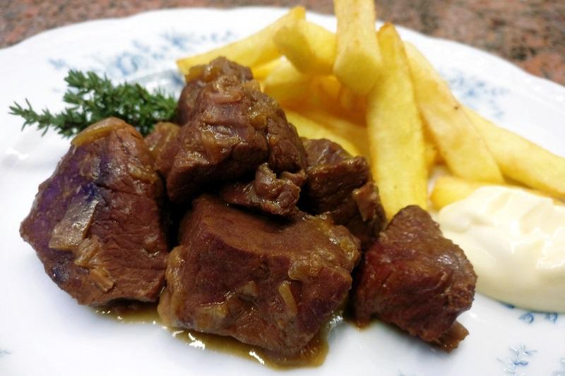 Stoofvlees met friet (Jeroen Meus)