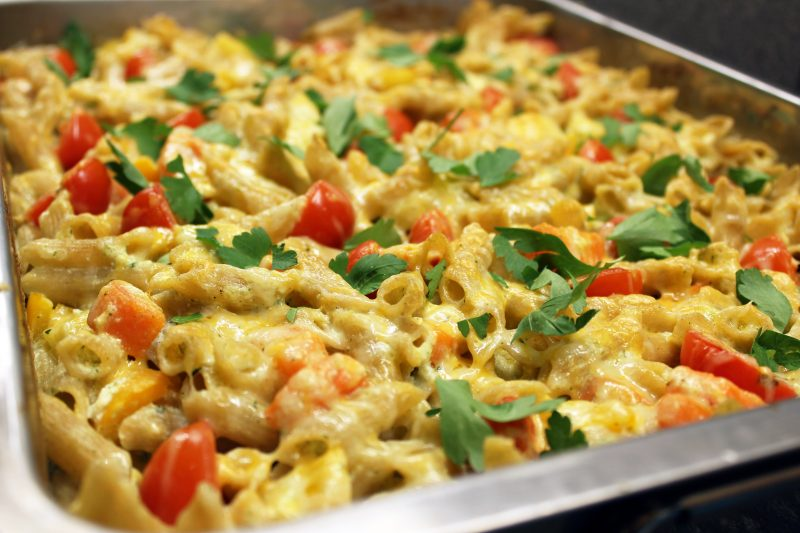 Veggie macaroni (Sandra Bekkari)