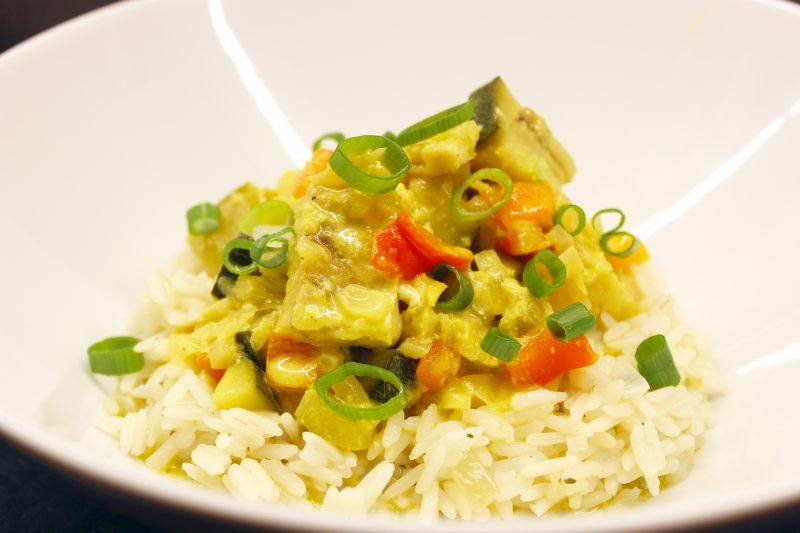 Viscurry van zeeduivel met rijst (Jeroen Meus)