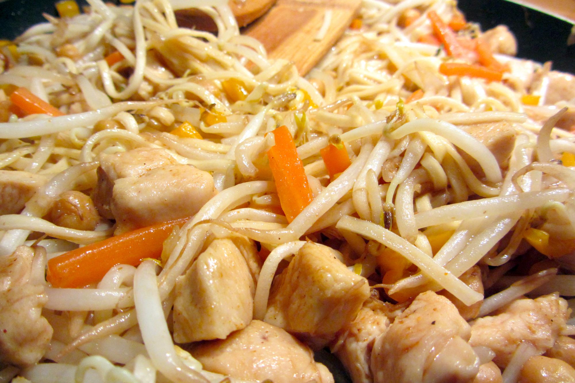Wok Teriyaki met kip