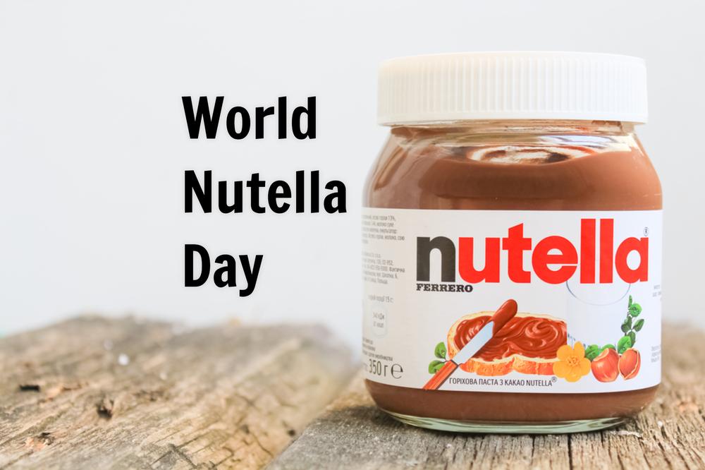 Hoera, vandaag vieren we World Nutella Day!