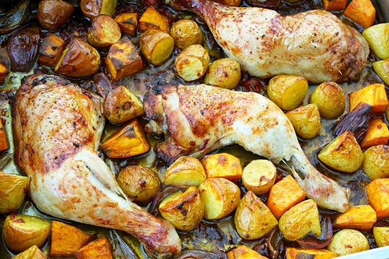 Zoete en rokerige Mexicaanse kip (Ottolenghi)