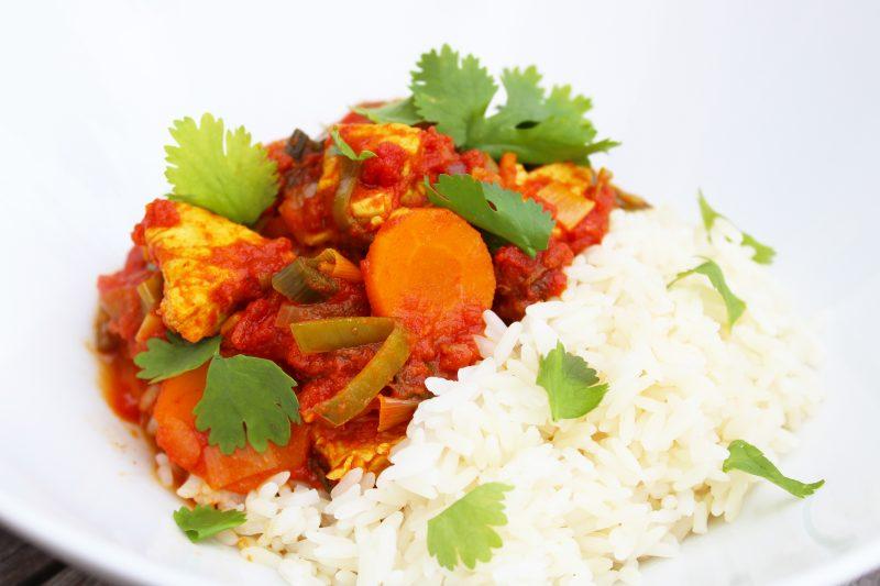 Zuiders kalkoenstoofpotje met rijst (Sandra Bekkari)