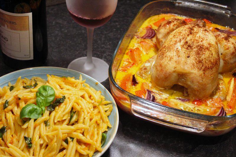 Zuiderse kip in de oven (Colruyt)