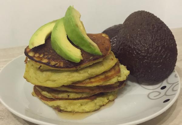 avocado pannenkoeken