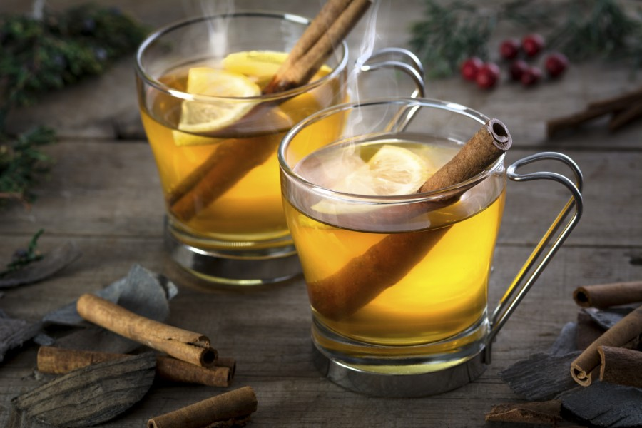 Hot Apple Toddy (warme wintercocktail)